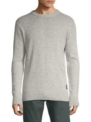 Scotch & Soda Sweaters Crewneck Speckled Sweater