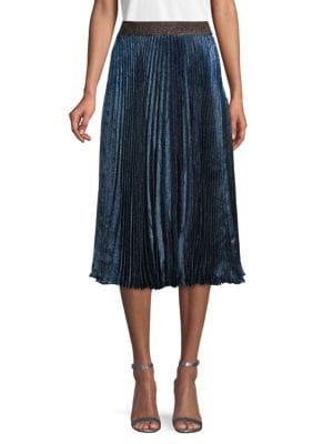 Christopher Kane Skirts Pleated Midi Skirt