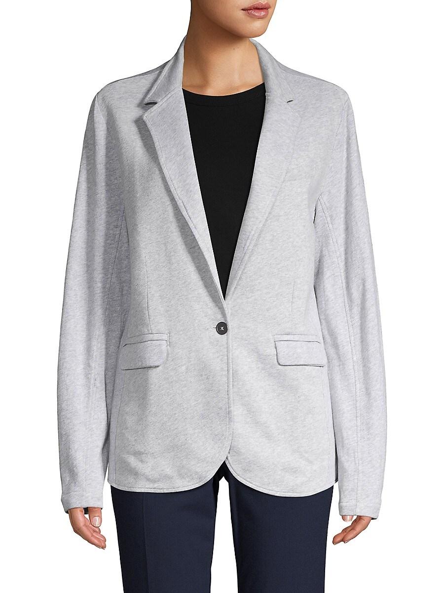 Women's Heathered Cotton Blazer