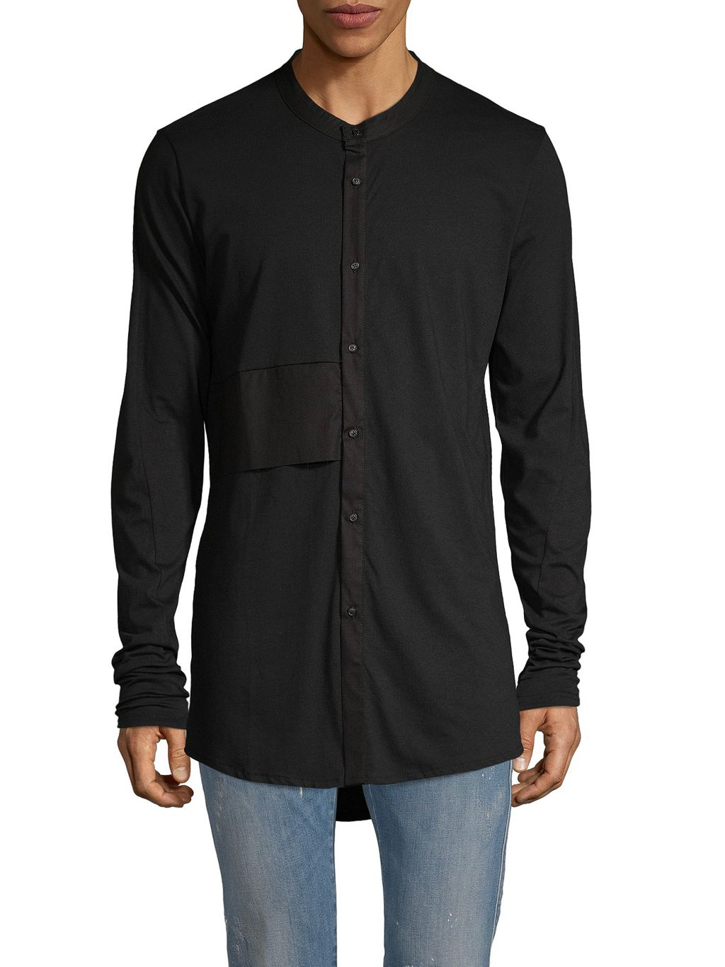 RON TOMSON Long-Sleeve Cotton Shirt