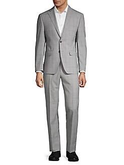 c163848c56 Designer Men's Suits | Armani, Versace & More | Saks OFF 5TH
