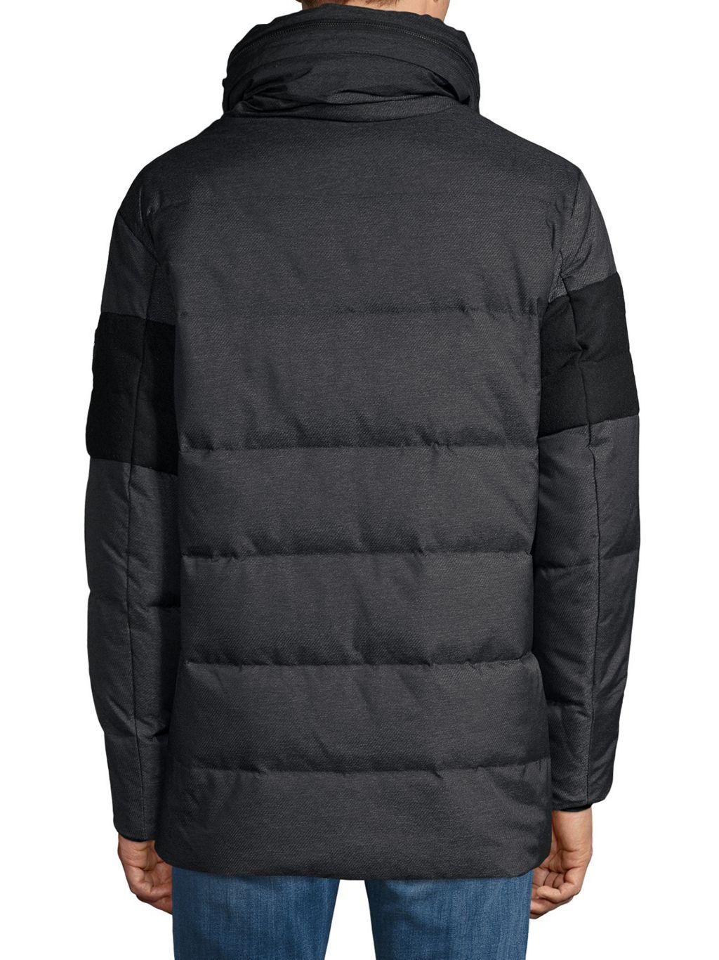 Karl Lagerfeld Paris Hooded Puffer Jacket