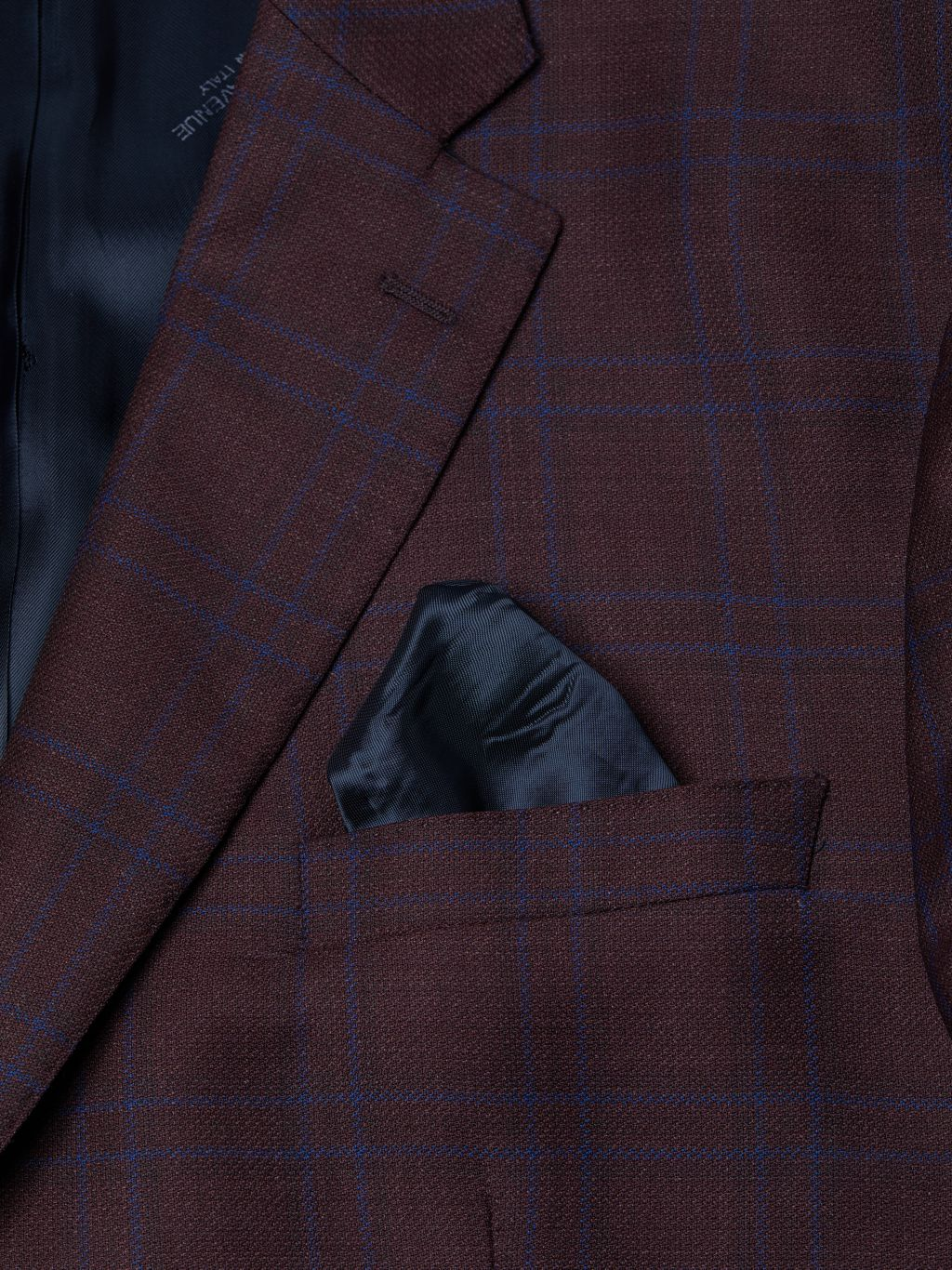 Saks Fifth Avenue Made in Italy Standard-Fit Plaid Wool & Silk-Blend Sportcoat
