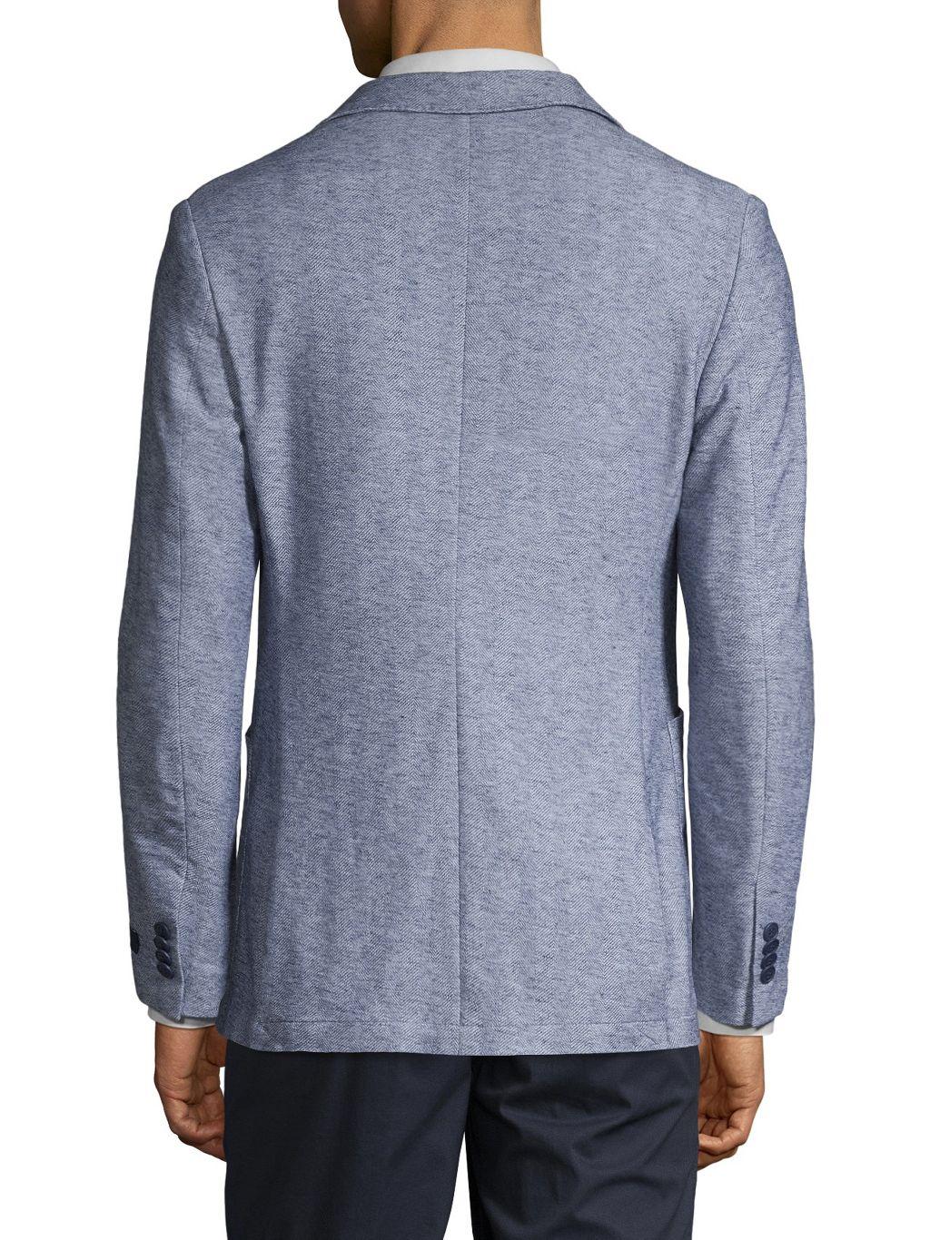 TailorByrd Herringbone Knit Sportcoat