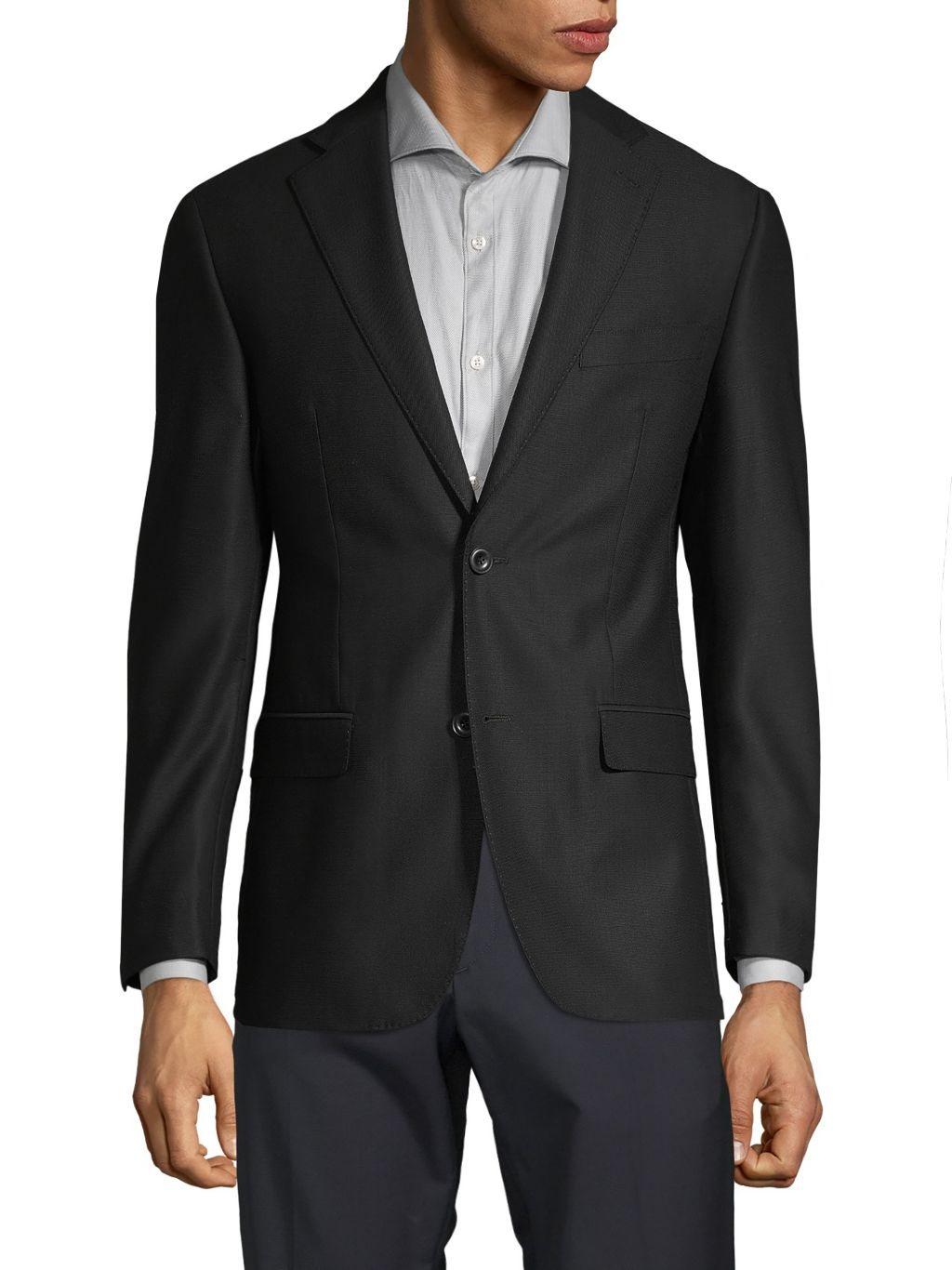 Michael Kors Collection Classic-Fit Notched Wool Blazer