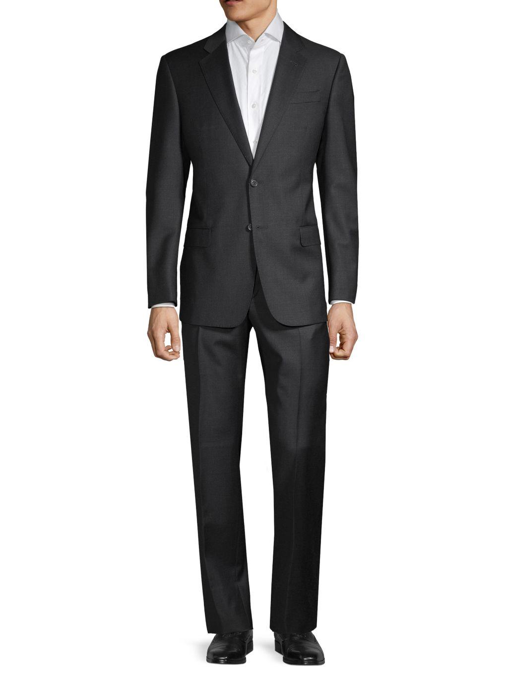 Armani Collezioni G-Line Virgin Wool Suit