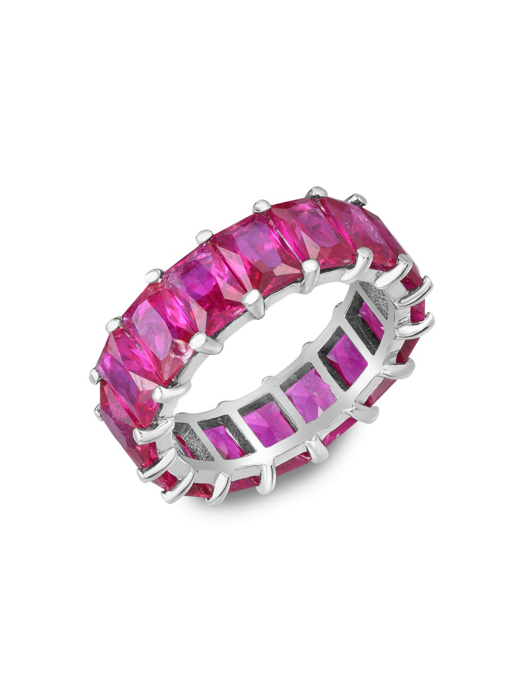 Chloe & Madison Crystal Eternity Ring