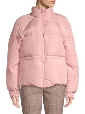 Ganni Jackets Tech Down Puffer Jacket
