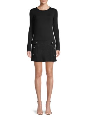 Bailey44 Dresses Long-Sleeve Mini Dress