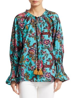 Figue Tops Liana Floral Blouse