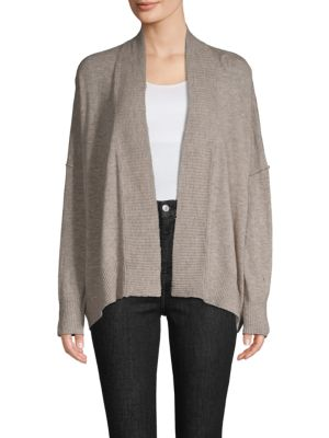 Zadig & Voltaire Tops Ribbed Cashmere Cardigan