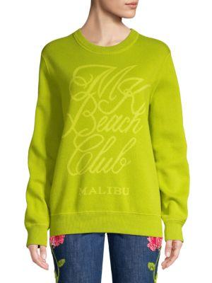Michael Kors Knits Beach Club Knit Sweatshirt