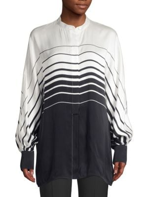Equipment Tops Sedaine Ombré Stripe Blouse