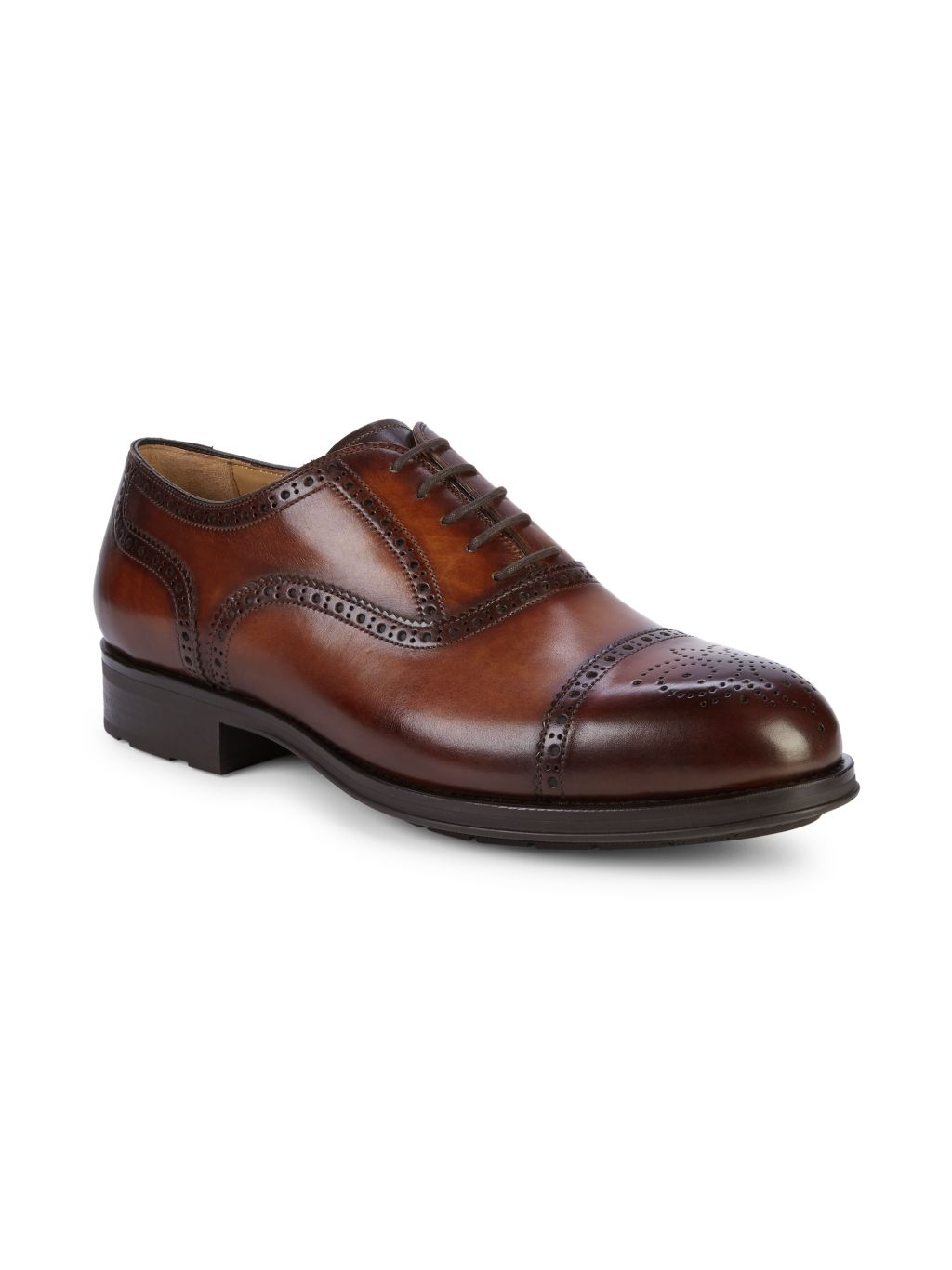 Magnanni Leather Oxford Brogues