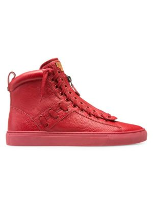 Bally Sneakers Hekem Leather High-Top Sneakers