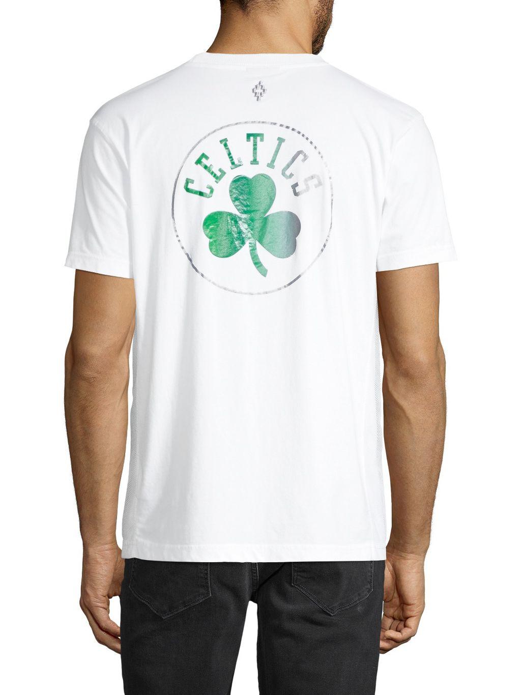 Marcelo Burlon NBA Boston Celtics Crewneck Cotton-Blend Tee