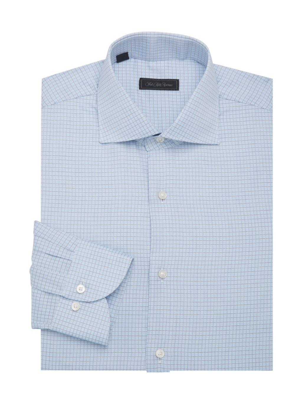 Saks Fifth Avenue Collection COLLECTION Travel Cotton Dress Shirt