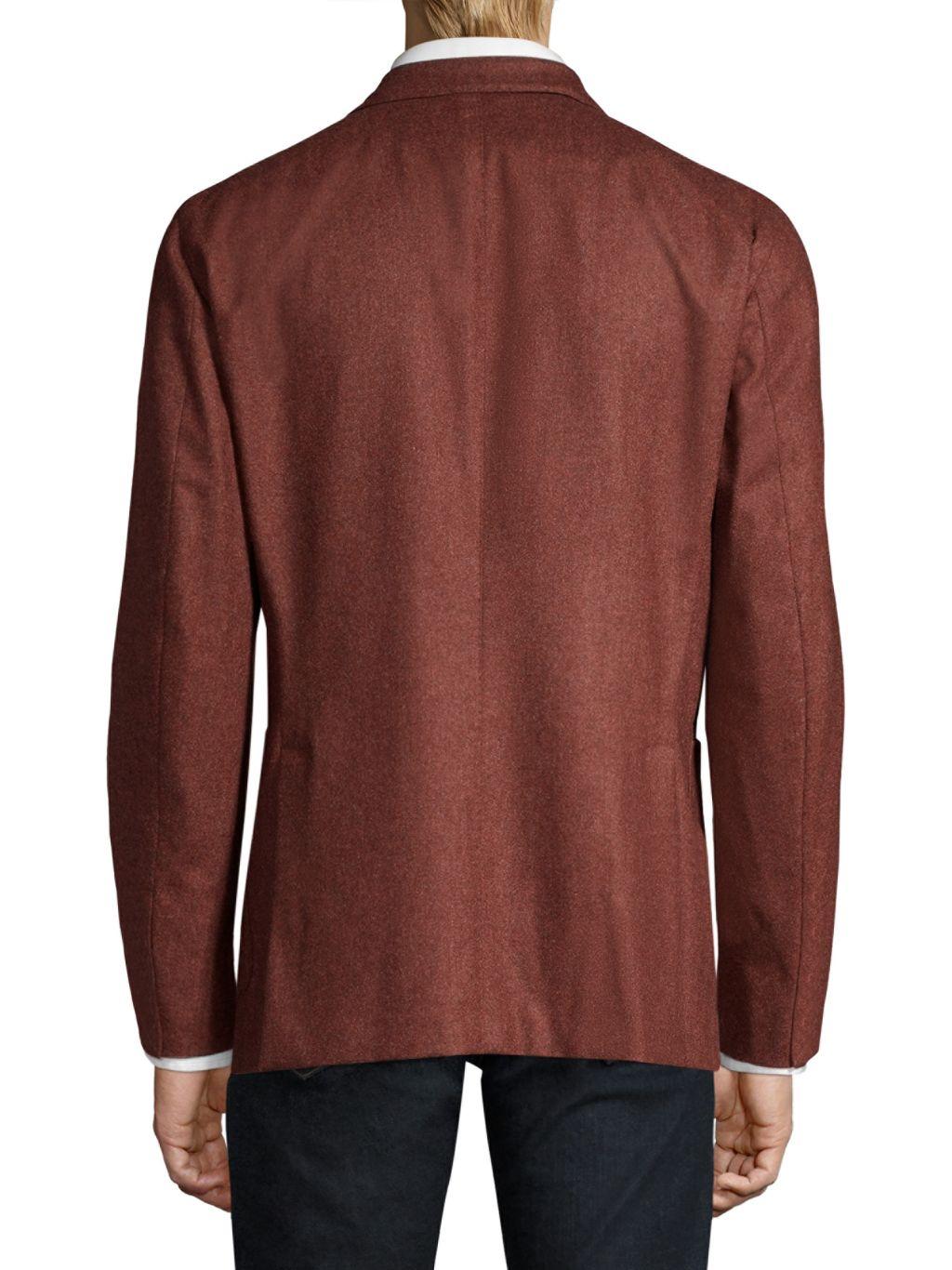 Boglioli Flannel Wool Dinner Jacket