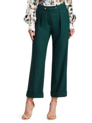 Erdem Pants Quinby Stretch Virgin Wool Trousers