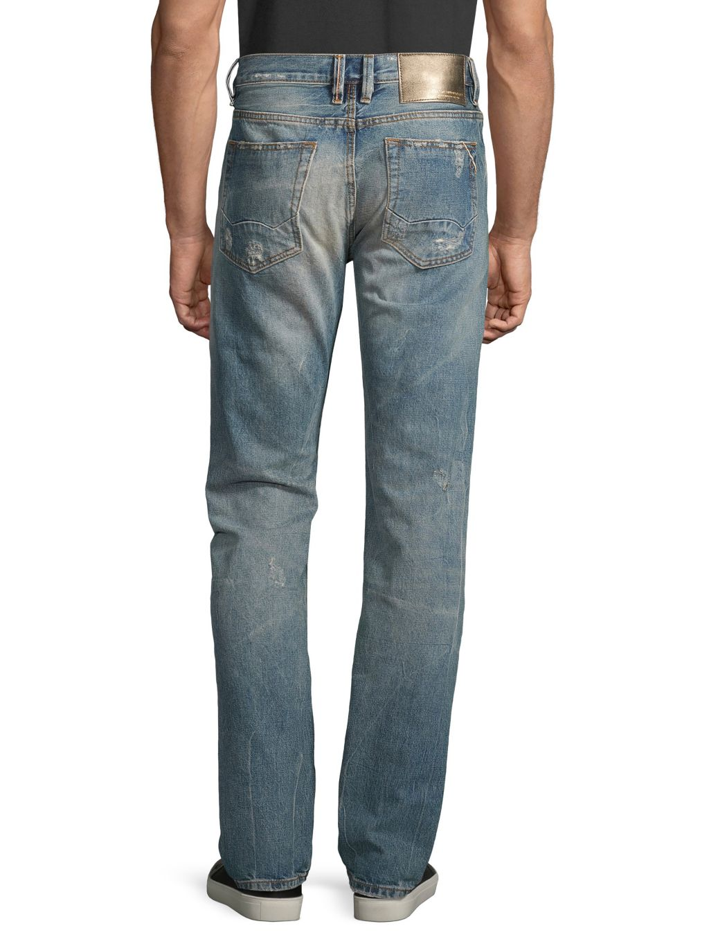 Cult Of Individuality Core Mccoy Cotton Straight Jeans