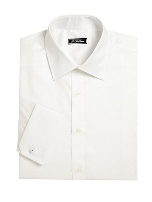 Saks Fifth Avenue COLLECTION LONG SLEEVE REGULAR-FIT DRESS SHIRT