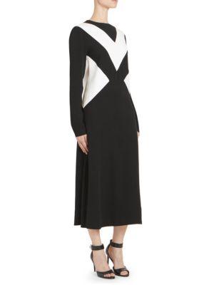 Givenchy Dresses Chevron Midi Shift Dress