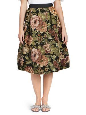 Simone Rocha Skirts Tapestry Tulip Skirt
