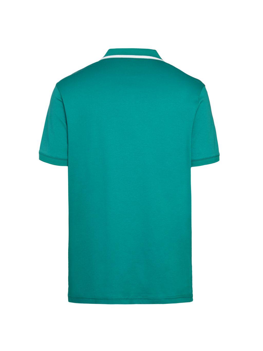 Michael Kors Striped-Collar Polo