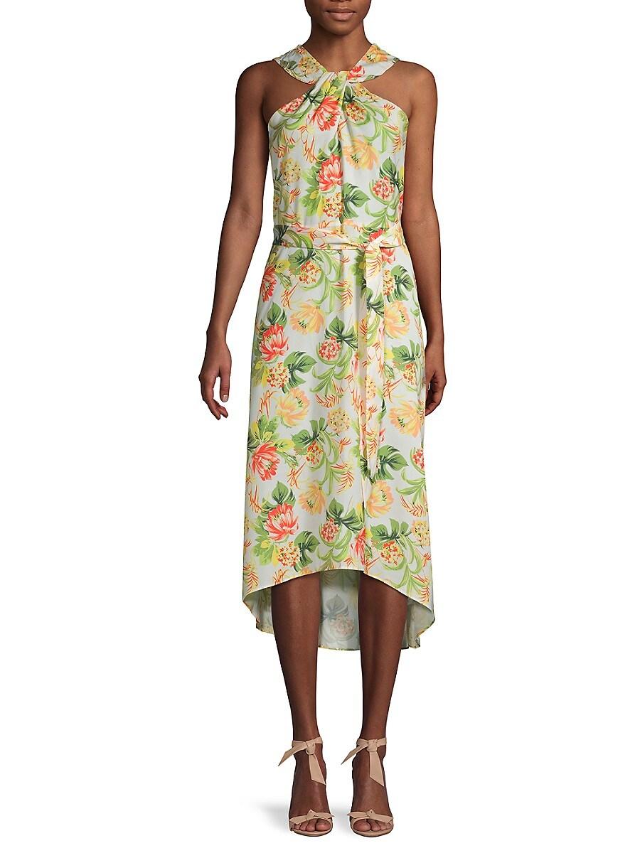 Women's Floral High-Low Dress