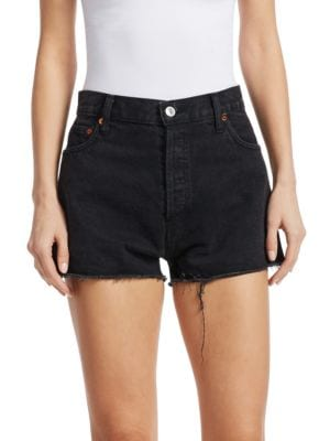 Re/done Shorts High-Rise Denim Shorts