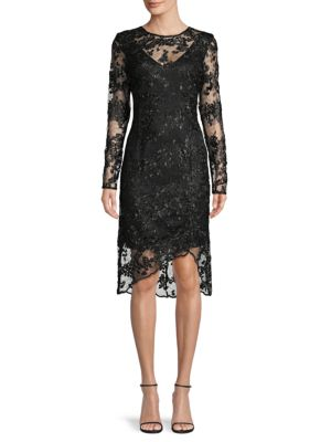 Dkny Dresses Lace Sheath Dress