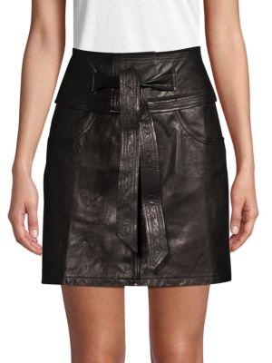 Rebecca Minkoff Skirts Leather Mini Skirt