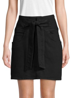 Rebecca Minkoff Skirts Tie-Waist Mini Skirt