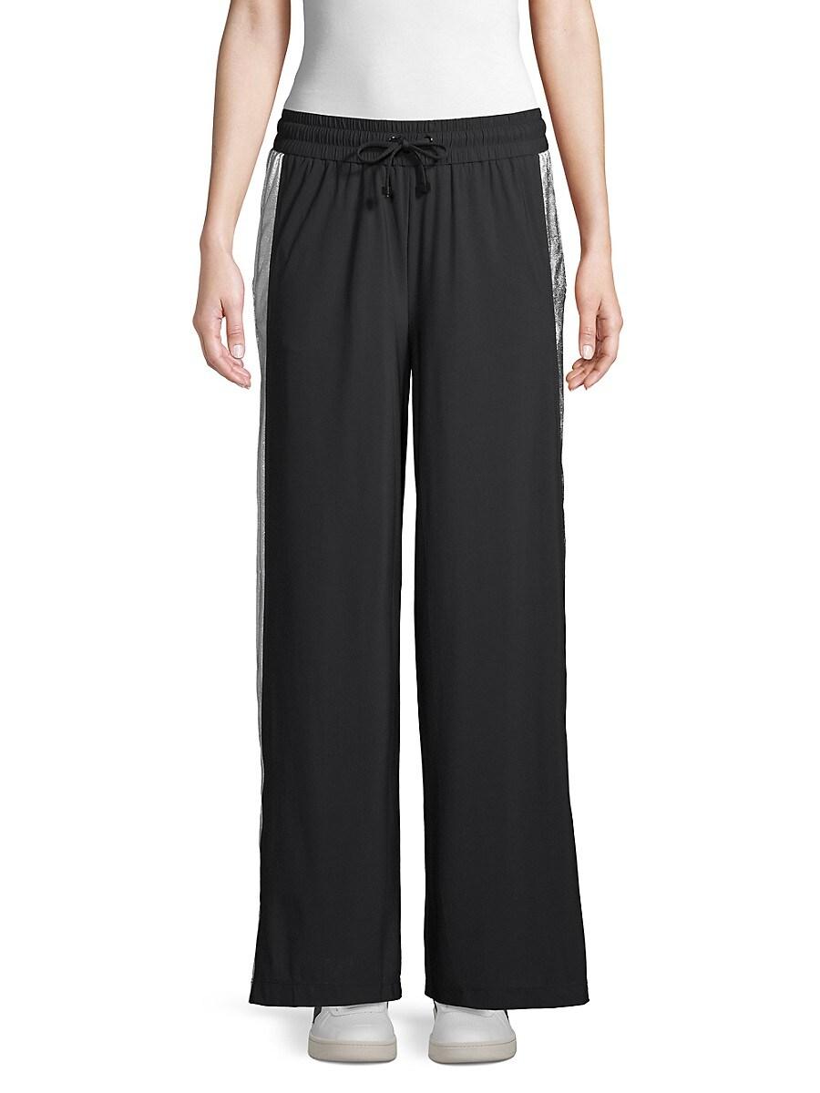 Women's Wide-Leg Drawstring Pants