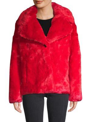 Avec Les Filles Jackets Faux Fur Jacket