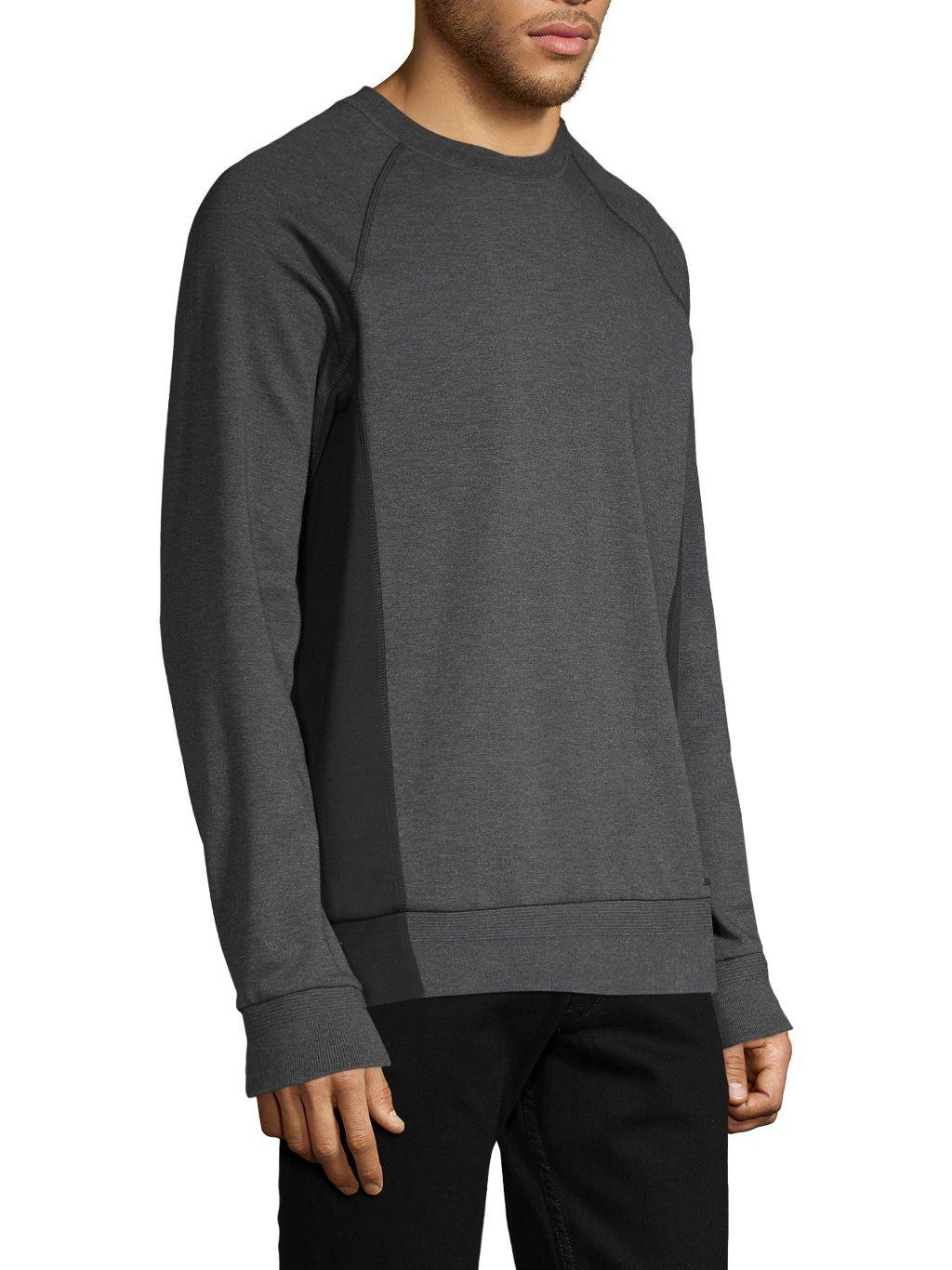 HUGO Raglan-Sleeve Cotton Sweatshirt