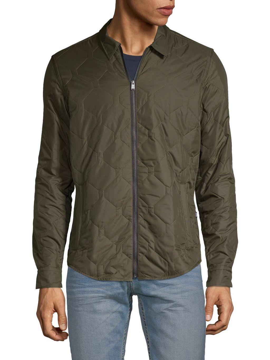 HUGO Zip-Up Quilted Jacket