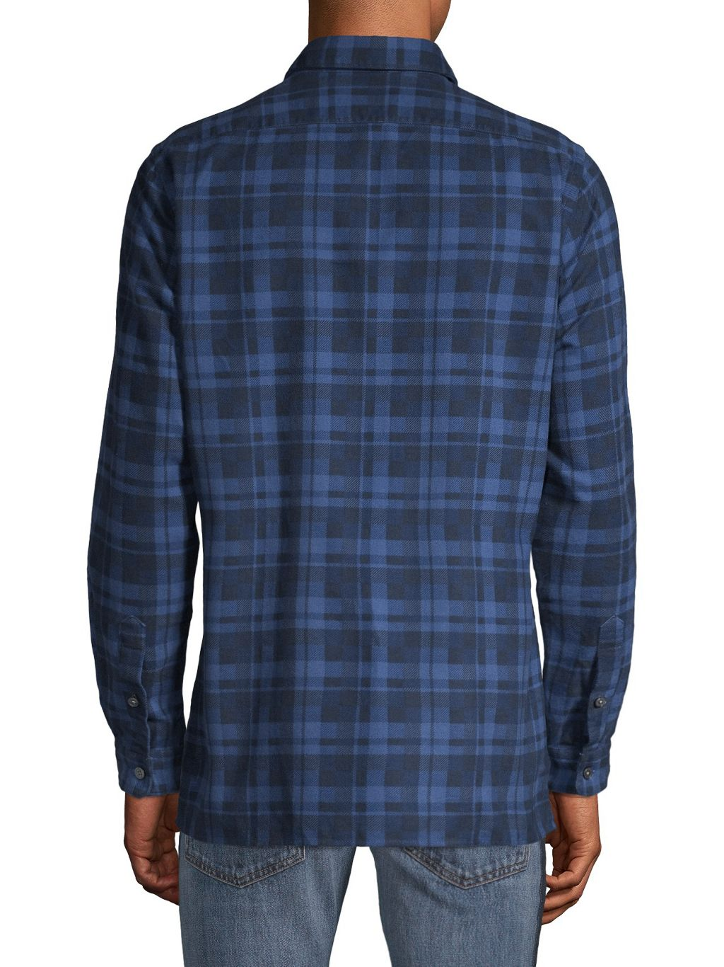 HUGO Regular-Fit Plaid Shirt