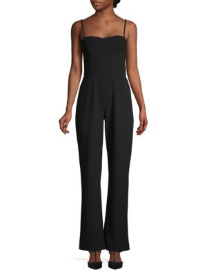 French Connection Suits Whisper Sweetheart Jumpsuit