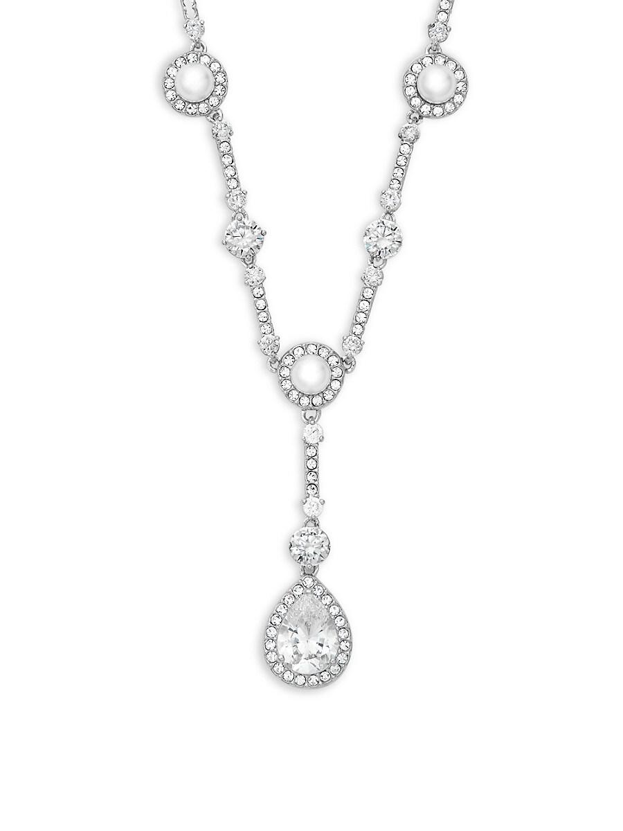 Women's Faux Pearl Pendant Necklace
