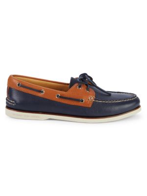Sperry Shoes Leather Slip-On Boat Shoes