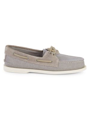 Sperry Shoes Bow Slip-On Boat Shoes