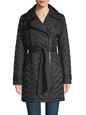 Karl Lagerfeld Jackets Quilted Chevron Jacket