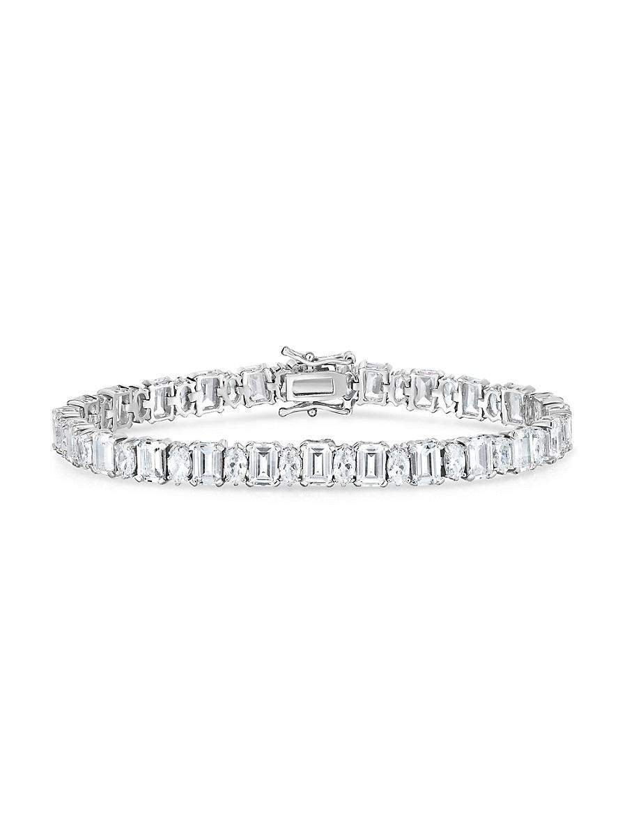 Women's Sterling Silver & Cubic Zirconia Tennis Bracelet