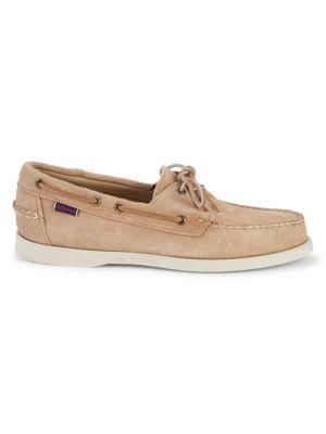Sebago Dockside Portland Suede Boat Shoes