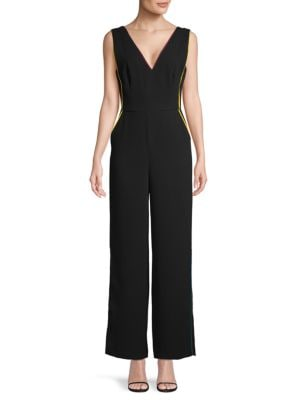Bcbgeneration Suits V-Neck Sleeveless Jumpsuit