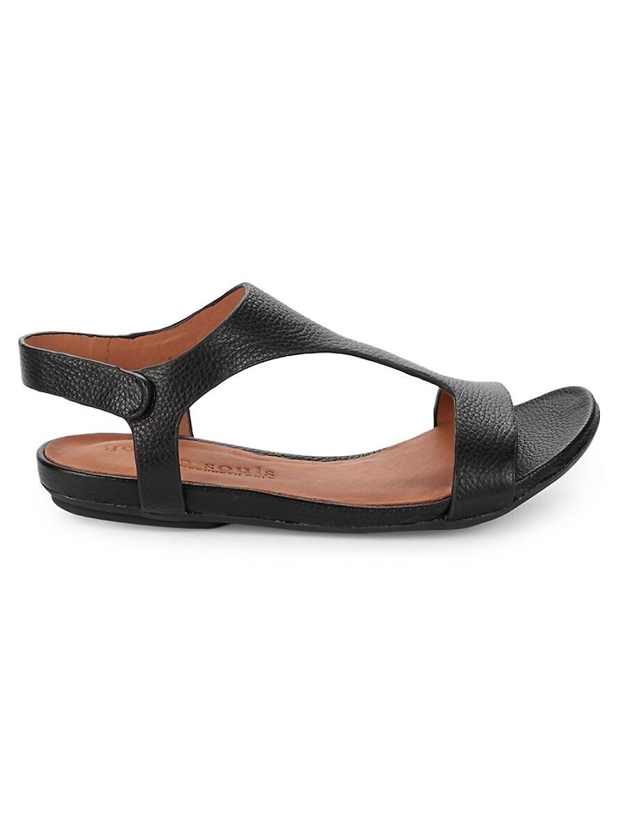 Women's Lark Slim T-Strap Leather Sandals