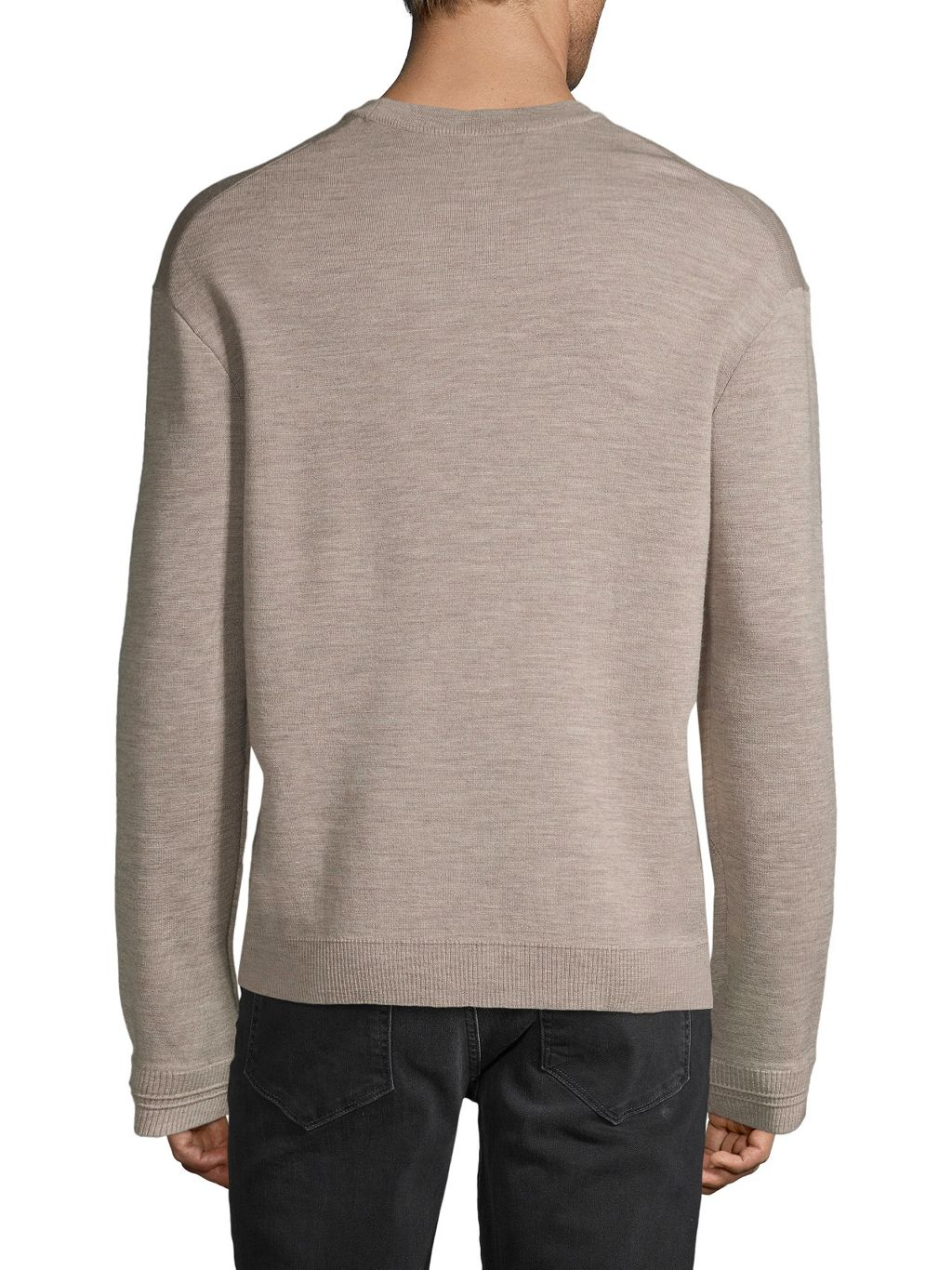 ZADIG & VOLTAIRE Graphic Wool-Blend Sweater