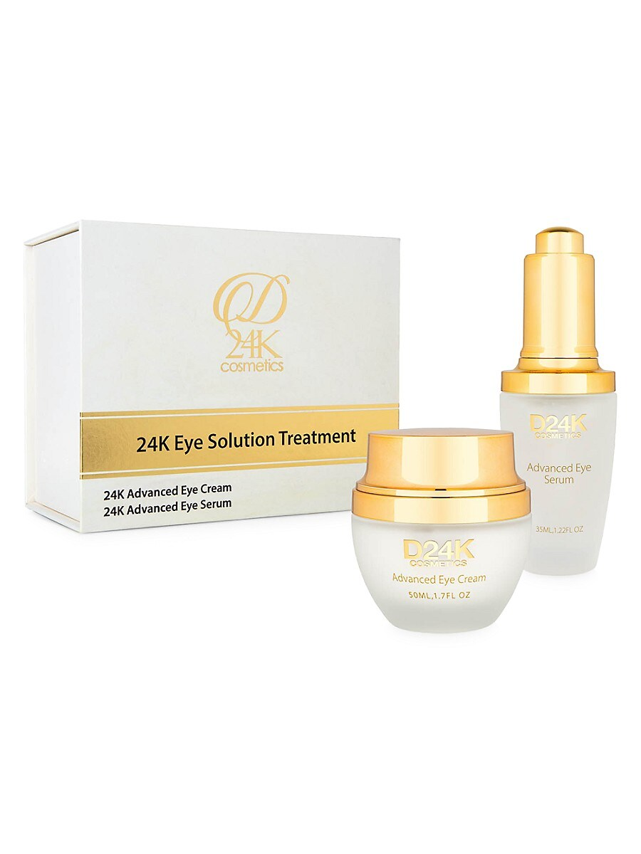 Women's Advanced 2-Piece Eye Illuminator Cream and Serum Set
