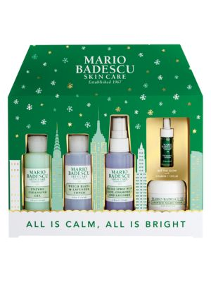 All Is Calm All Is Bright 5 Piece Skin Care Set
